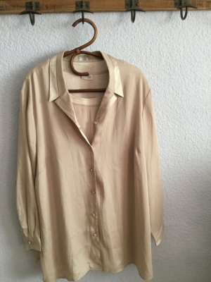 Atelier Creation Lange blouse beige Polyester
