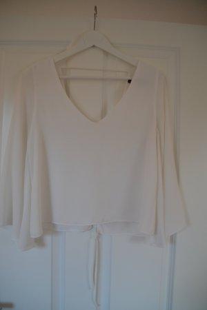 Zara Camicetta a maniche lunghe bianco-bianco sporco