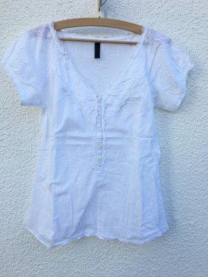 Schicke Bluse mit Verzierungen Gr. XL