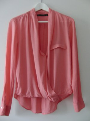 Schicke Bluse rosa von Zara