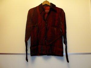 s.Oliver Glanzende blouse karmijn