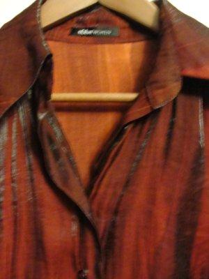 Schicke Bluse, rot glänzend von S Oliver in GR M