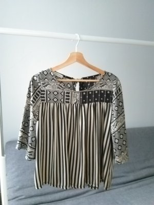 Peperosa Splendor Blouse black-cream