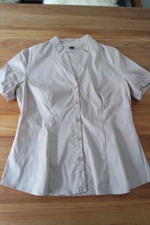 Schicke Bluse von S. Oliver Selection, Größe 40, neuwertig, Farbe mocca
