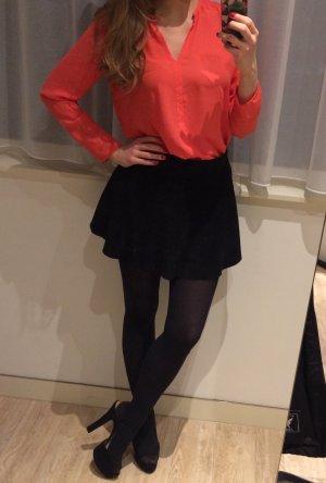 Schicke Bluse ZARA Orange neu