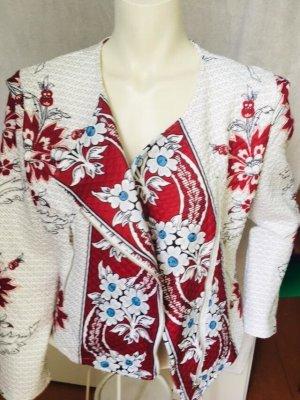 schicke Boho-Jacke mit Blumenmuster