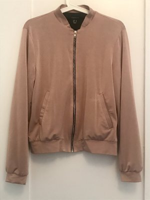 Atmosphere Blouson aviateur or rose-noir