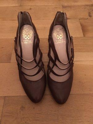Schicke braune high heels aus Amerika