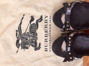 Burberry Prorsum Bailarinas plegables negro-color bronce