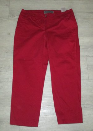Cecil Chinos dark red-brick red mixture fibre
