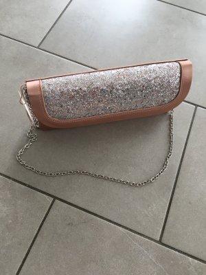Menbur Pochette argenté-rose chair