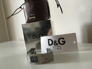 Schicke D&G Uhr mit Strass