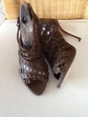 KAREN MILLEN Sandalen met bandjes beige