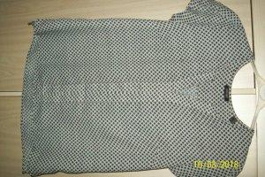 schicke diagonal-karierte Bluse