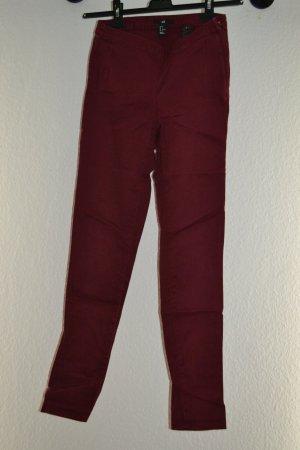 Schicke dunkelrote Hose von H&M