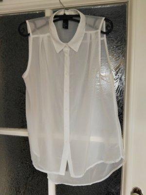 Schicke durchsichtige Bluse H&M Gr. 36