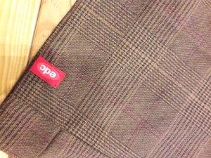 edc by Esprit Stoffen broek bruin-bruin-paars