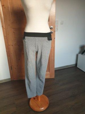 Hollister Pantalon de jogging noir-gris clair