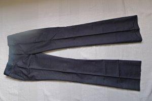 Schicke,elegante,Business,Bundfalten- Hose,dunkel-blau,Gr.34