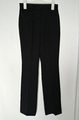 Escada Pantalon zwart Scheerwol