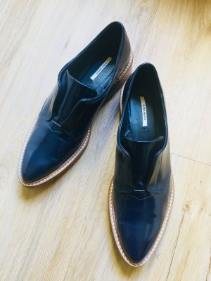 Zara Business Shoes dark blue