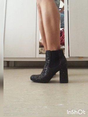 schicke glitzer Stiefeletten / Boots