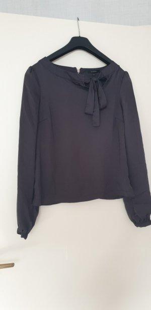 Amisu Blusa de manga larga gris