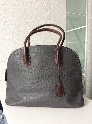 Schicke Graue Businesshandtasche