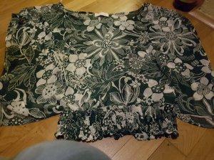 schicke grün transparenta Bluse