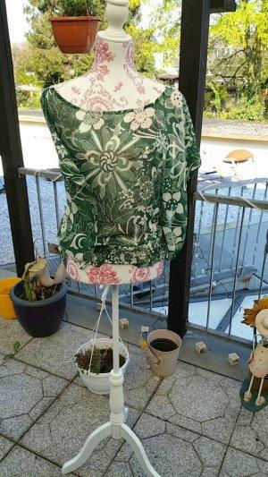 schicke grün weisse Tunika