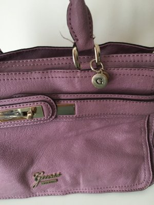 Guess Handbag grey lilac-mauve