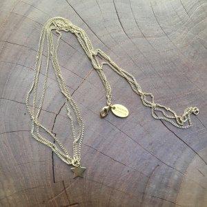 Schicke Halskette mit Sternanhänger
