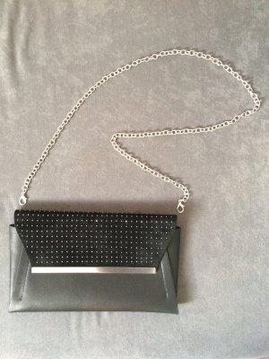 Schicke Handtasche clutch in schwarz NEU