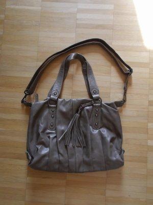 schicke Handtasche von TCM/Tchibo Platzwunder Crossover Schlamm wie NEU