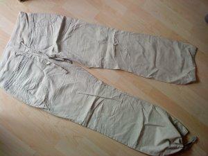 schicke helle Leinen - Sommerhose 40 Vero Moda
