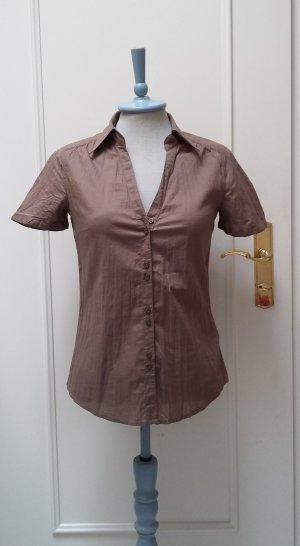 Schicke Hemdbluse von Esprit mit kurzen Ärmeln