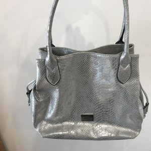 Gabor Carry Bag silver-colored synthetic material