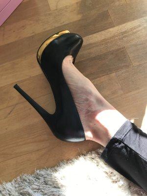 Schicke High Heels- ECHTLEDER