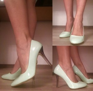 Schicke High-heels (Pumps) Taupage
