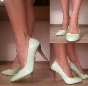 Schicke High-heels (Pumps) Taupage