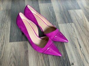 Zara High Heels purple