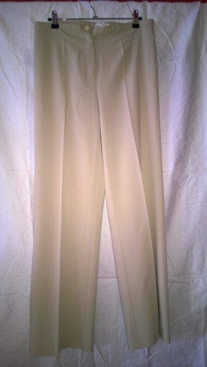 Schicke Hose der Marke Cambio in beige, Modell Linda, Größe 36
