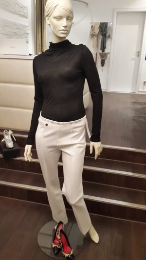 Marlene Trousers white-black mixture fibre