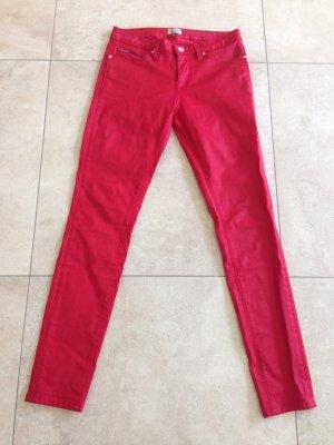 Hilfiger Denim Pantalon rouge brique