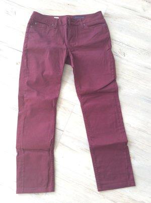 Schicke Hose von Tommy Hilfiger burgunderfarben Gr. 30/32