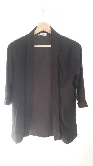 Chemisier kimono noir