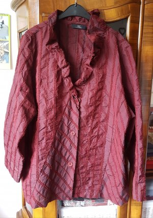 SULU Kerstin Bernecker Oversized Jacket bordeaux-blackberry-red