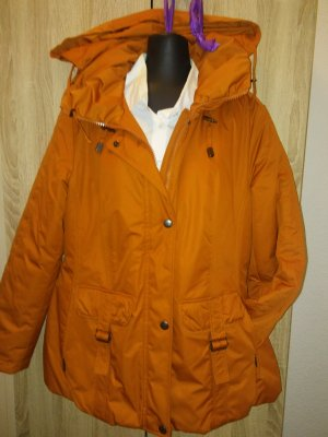 Hoody dark orange-orange