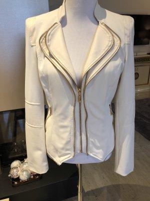 Attentif Veste blanc cassé-doré