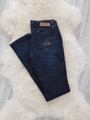 Five-Pocket Trousers dark blue